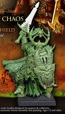 Lord of Chaos Sword- Shield