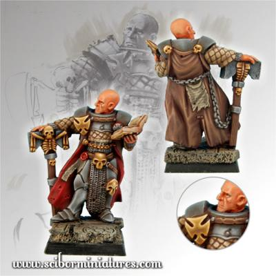 28mm/30mm Fighting Priest #1